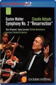 ABBADO CONDUCTS THE LUCERNE FESTIVAL ORCHESTRA - MAHLER: SYMPHONY NO.2 - BLU-RAY