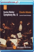 ABBADO CONDUCTS THE LUCERNE FESTIVAL ORCHESTRA - MAHLER: SYMPHONY NO.6 - BLU-RAY